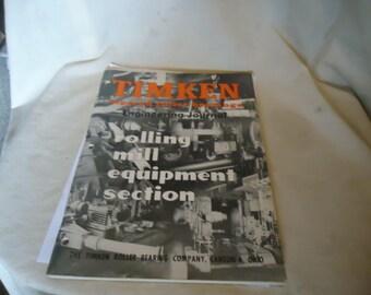 Vintage Timken Engineering Journal Tapered Roller Bearings, collectable