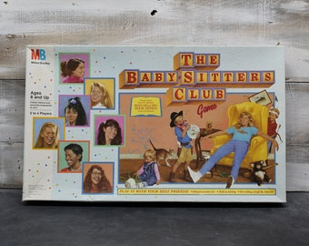 1989 Milton Bradley The Baby-Sitters Club Game