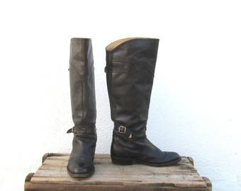 20% Off Sale FRYE Boots Equestrian Style Buckled Boots Ladies Size 6
