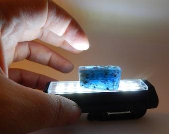 Blue Kyanite - gem,  polished