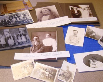 Family Photos Genealogy Chastain Summers Georgia 1800s to 1933 Antique Vintage Photographs History