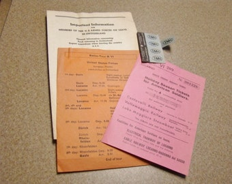 WWII 1945 US Forces Tour Switzerland Tickets and Information