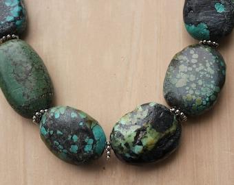 Turquoise Necklace/Bracelet Set