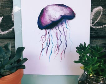 Jellyfish Printable Print 8x10