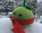 Winter Melon Fake Cute Food Plush Stuffed Toy Fruit Vegetable Polar Fleece Made in Canada
