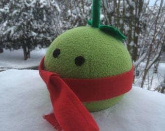 Winter Melon Fake Cute Food Plush Stuffed Toy Fruit Vegetable Polar Fleece Made in Canada