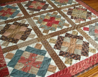 Handmade Quilted Table Topper or Wall Hanging