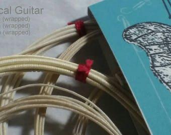 Silk Musical Strings for Classical Guitar
