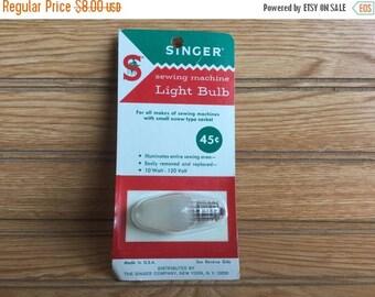 Sale Vintage Singer Sewing Machine Light Bulb 10W 120V Style 36 NOS