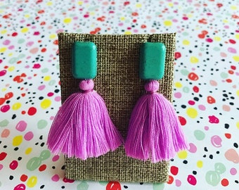 Summer Lilac earrings