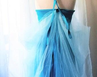 Ice Queen II: Girls Halter Wrap Dress