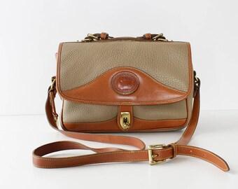 Vintage Dooney and Bourke Handbag • Leather Crossbody Purse • Dooney and Bourke Satchel • Vintage Satchel Bag • Crossbody Satchel | B916