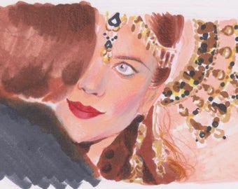 Moulin Rouge Original Illustration