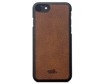 iPhone 7 Case Cover - CHESTER - Vegetable Tanned Leather Backcover