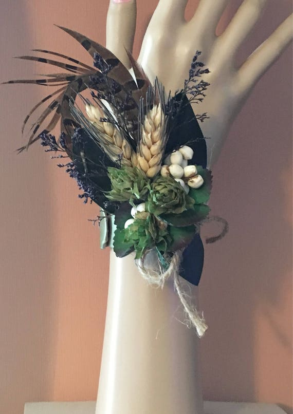 All natural corsage