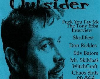 National TeenSet Outsider #33 Tony Erba, Don Rickles, Stiv Bators, Chaos Sluts on Acid, SkullFest, Mr. Ski Mask