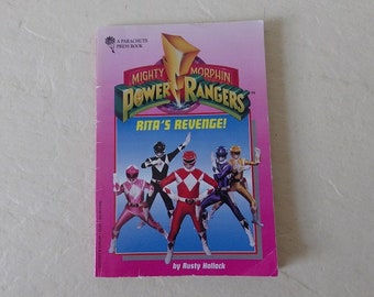 Book: Mighty Morphin Power Rangers, Rita's Revenge, Softcover Book, 1994