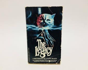 Vintage Horror Book The Legacy Film Novelization 1979 Paperback