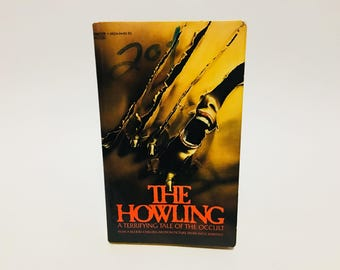 Vintage Horror Book The Howling by Gary Brandner 1981 Movie Tie-In Edition Paperback