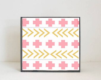 boho southwestern geometric nursery art, arrow nursery art, gender neutral baby, geometric prints, nursery art, redtilestudio, southwest