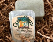 Conditioning Shampoo Bar, 2.5oz, Clean Green, Mint Rosemary