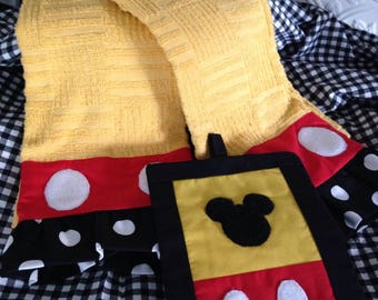 Mickey mouse pot holders