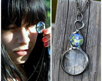 Kaleidoscope Necklace, Crystal Jewelry, Kaleidoscope Glasses, Designer Jewelry, Long Necklace, Necklace Design, Simple Necklaces (2771)