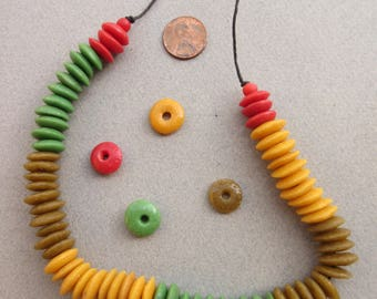 Mixed Ashanti Beads