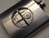 Death Star and Galactic Empire Flasks