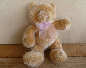 Sugar Loaf Plush Beige Teddy Bear
