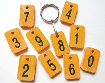 Lucky Number Keychain