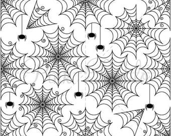 BACK TO SCHOOL Sale Halloween Spider Web Clipart Clip Art, Halloween Spiderweb or Cobweb Clip Art Clipart - Commercial Use