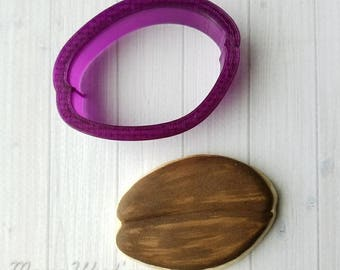 Coffee Bean Cookie Cutter and Fondant Cutter and Clay Cutter