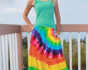 Tie Dye Tiered Skirt | Two Sizes Available!