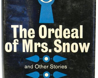 The ORDEAL of MRS. SNOW and Other Stories by Patrick Quentin, 1st American Edition, Hardback, Dust Jacket 1962