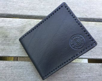 Leather Bifold Wallet - Handmade Leather Wallet - Mens Wallet - Gift for Husband - Gift for Dad - Mens Leather Wallet - READY TO SHIP