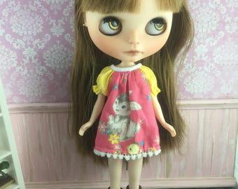 Blythe Smock Dress - Little Bunny