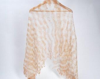Lace Shawl,knitted lace wool scarf, wedding lace shawl, orenburg lace shawl