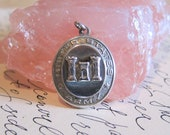 HOLD for Norman --- World War II US Army Sterling Silver Small Pendant or Charm