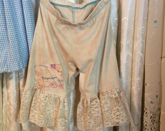 Tea Stained Pantaloons, Child's Size 6 Small, For Costume