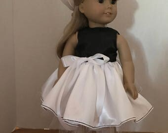Party Dress for American Girl Doll or 18 Inch Doll