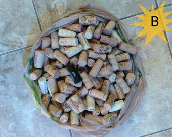 100 Used Wine Corks (Recycle)