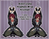 FFXV Ardyn Izunia Inspired Headphone Wrap Keychain