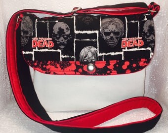 The Walking Dead Crossbody / Outbreak/ Zombies/ TWD
