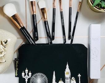 Free UK Shipping - London Cosmetics Bag