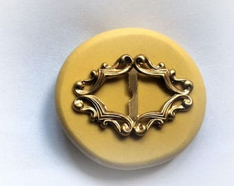 Slide buckle flexible silicone mold/ fondant/ cake decoration