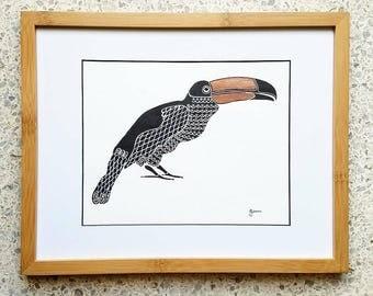Toucan - Original Illustration