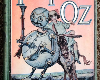 Wizard of Oz  Tic Tok of Oz book 1914