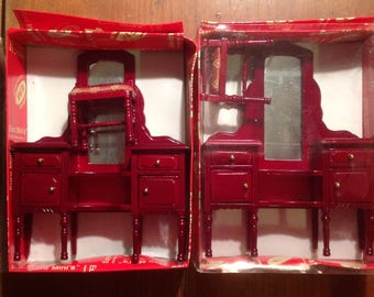 Miniature dollhouse  Vanity