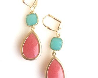 RESERVED for Sutton - Custom Bridal Earrings